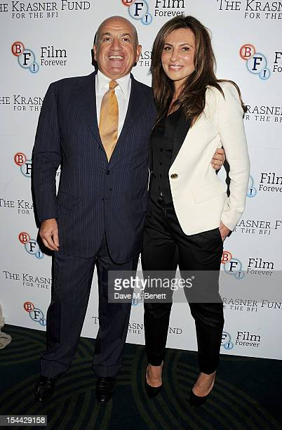 Alex Krasner and Ella Krasner attend the launch of The Krasner Fund for the BFI at The Ivy on October 19 2012 in London England