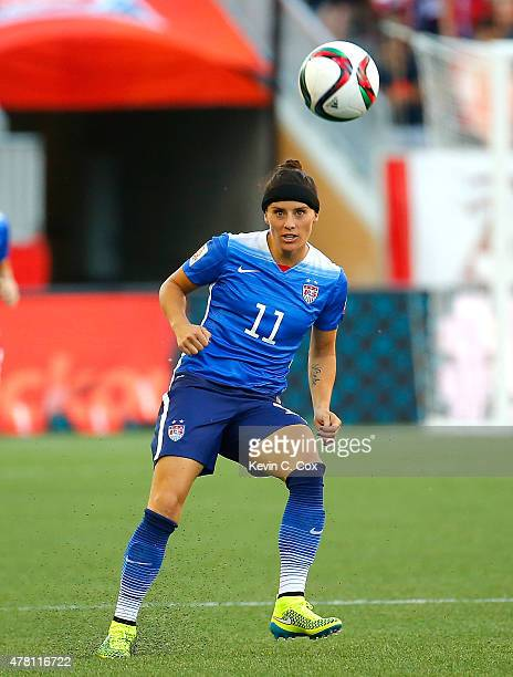 Alex Krieger of the United States of America against Sweden during the FIFA Women's World Cup Canada 2015 match between USA and Sweden at Winnipeg...