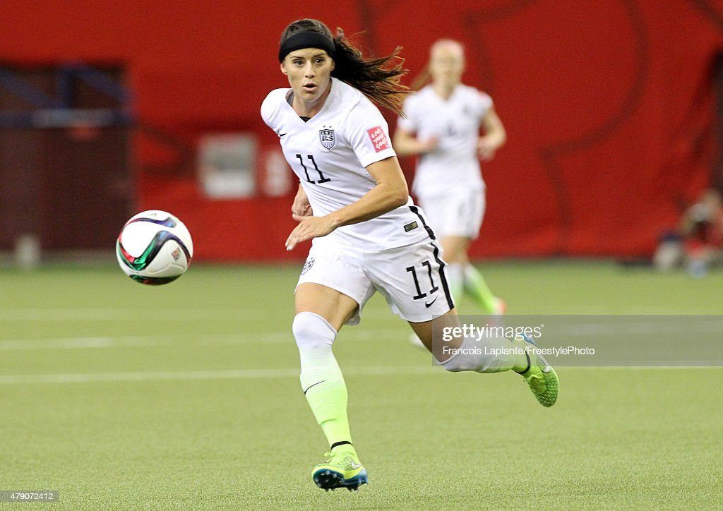 Alex Krieger #11 of the United States runs after the ball in the first half against Germany in the FIFA Women's World Cup 2015 Semi-Final Match at Olympic Stadium on June 30, 2015 in Montreal, Canada.