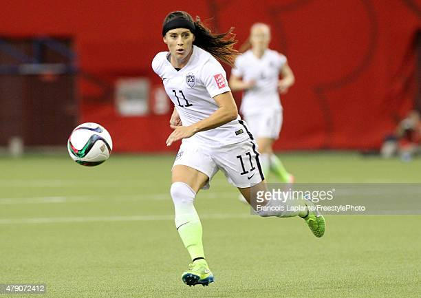 Alex Krieger of the United States runs after the ball in the first half against Germany in the FIFA Women's World Cup 2015 SemiFinal Match at Olympic...