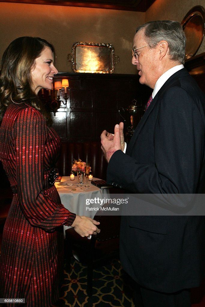 alex kuczynski and david koch attend charles stevenson melissa biggs bradley jennifer isham - Melissa Biggs Bradley