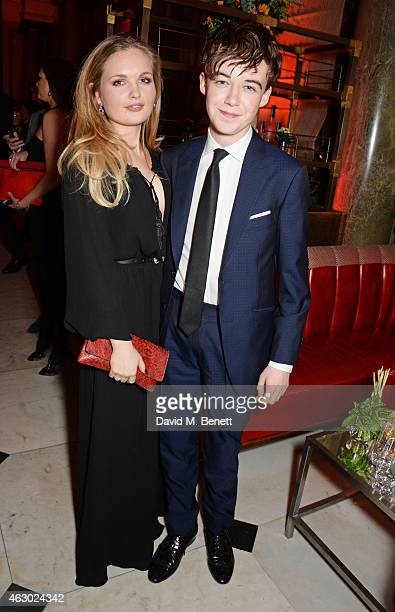 Alex Lawther and guest attend The Weinstein Company Entertainment Film Distributor StudioCanal 2015 BAFTA After Party in partnership with Jimmy Choo...