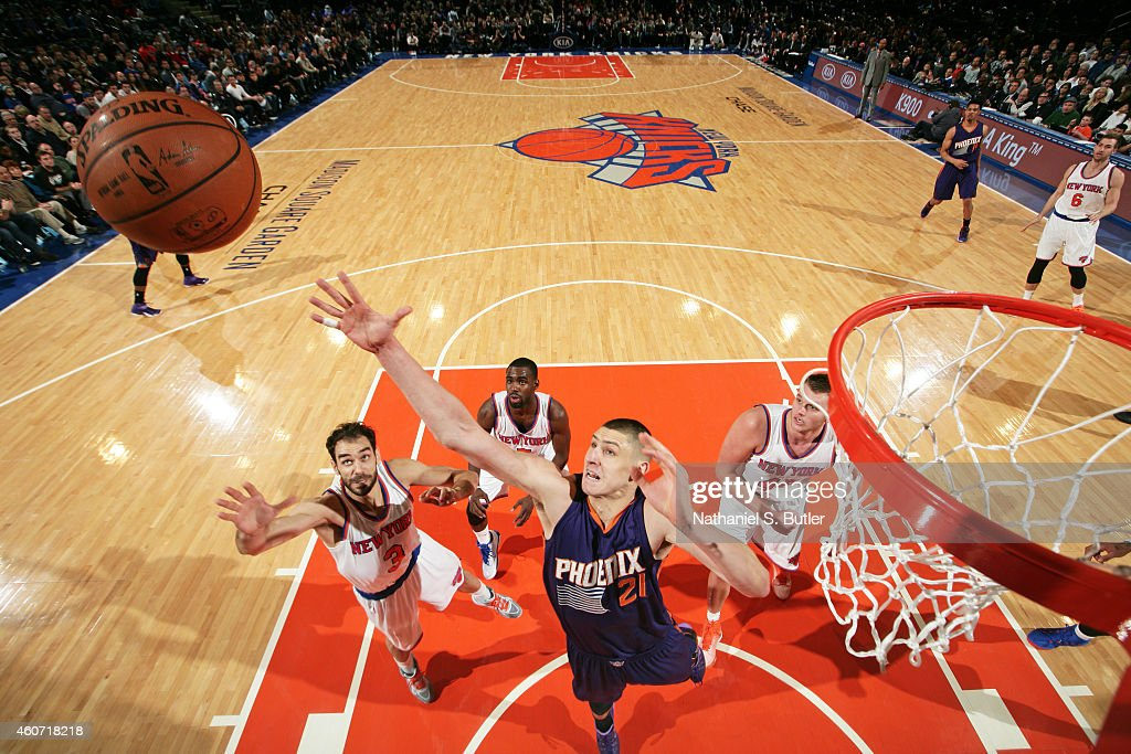 ... 2017 18 New Season White Jersey Alex Len 21 of the Phoenix Suns goes up  for a rebound against the New Maryland Basketball Authentic NBA spurs mens  ... 99af0238a