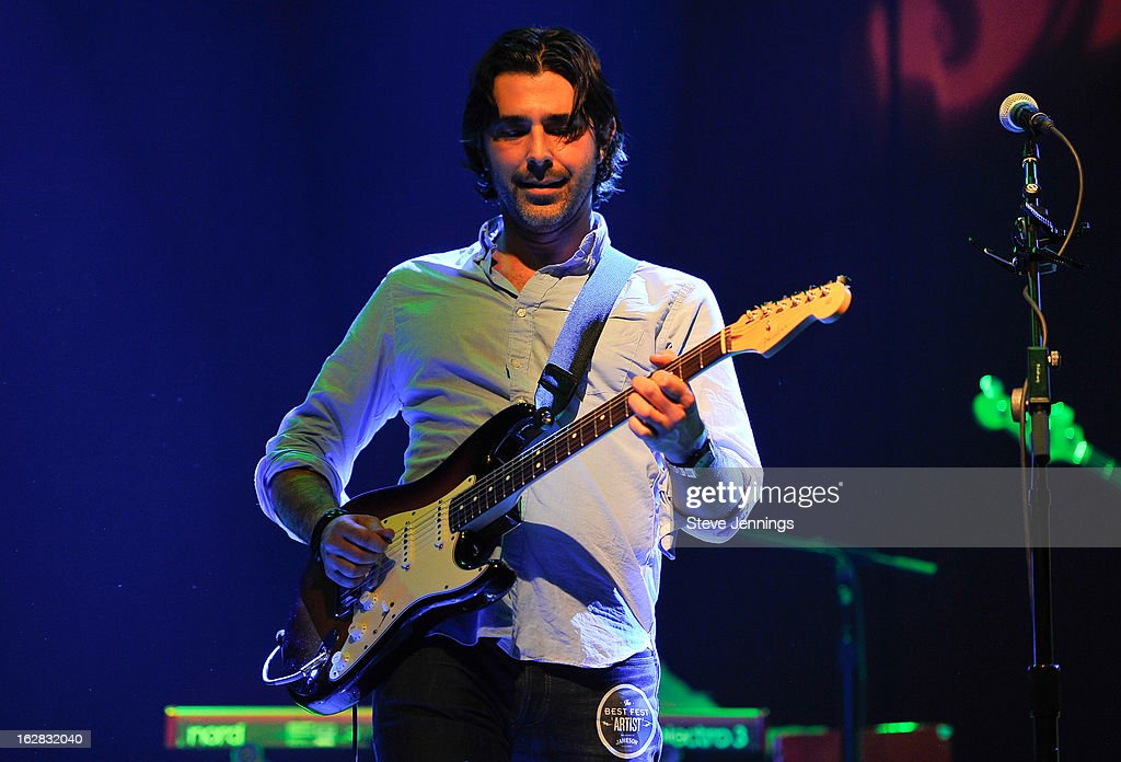 Alex Levy performs on stage as Jameson Best Fest launches Petty Fest at The Fillmore on February 27, 2013 in San Francisco, California.