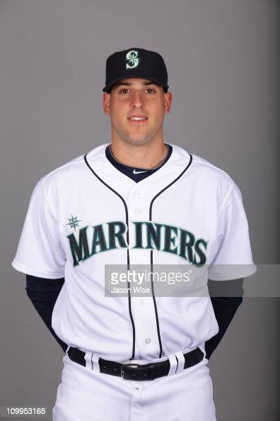 Alex Liddi of the Seattle Mariners poses during Photo Day on Sunday February 20 2011 at Peoria Sports Complex in Peoria Arizona
