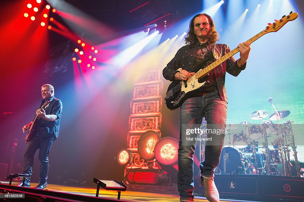 Rush Performs At KeyArena - Seattle, WA