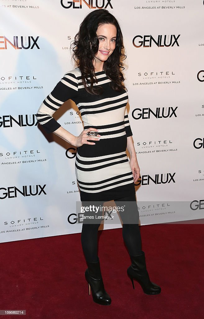 Alex Lombard attends the Genlux Cover Girl Kristin Chenoweth Celebrates Opening of new bar Riviera 31 at The Sofitel L.A. on January 15, 2013 in Beverly Hills, California.