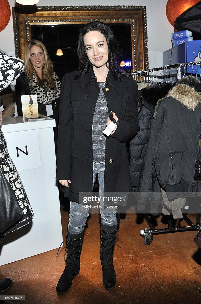 Alex Lombard attends the TR Suites Daytime Lounge on January 18, 2013 in Park City, Utah.
