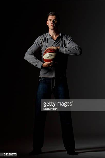 Alex Loughton of the Cairns Taipans poses during an NBL portrait session at the Novotel Darling Harbour on February 17 2011 in Sydney Australia