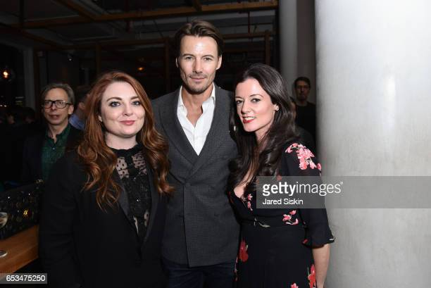 Alex Lundqvist and guests attend TriStar Pictures The Cinema Society with 19 Crimes Host the After Party for 'T2 Trainspotting' at Mr Purple at the...