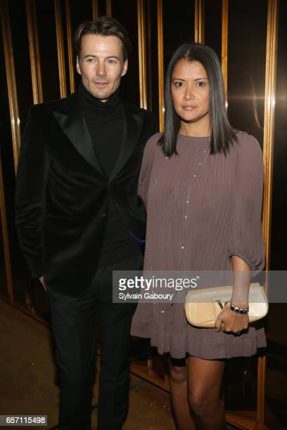 Alex Lundqvist and Keytt Lundqvist attend the after party for 'Their Finest' screening hosted by STXfilms and EuropaCorp with The Cinema Society on...
