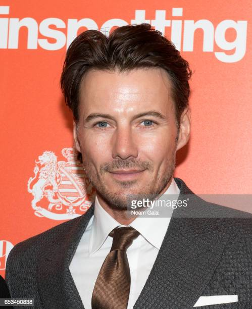 Alex Lundqvist attends a screening of 'T2 Trainspotting' hosted by TriStar Pictures and The Cinema Society at Landmark Sunshine Cinema on March 14...
