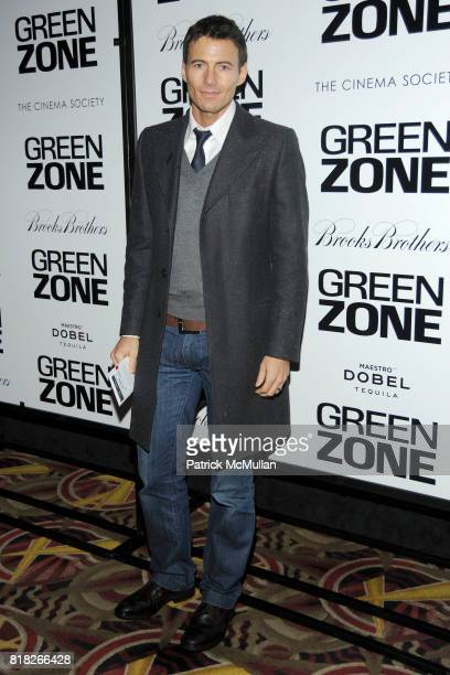 Alex Lundqvist attends UNIVERSAL PICTURES with THE CINEMA SOCIETY BROOKS BROTHERS host the World Premiere of 'GREEN ZONE' at AMC Loews Lincoln Square...