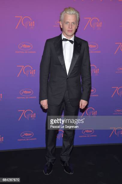 Alex Lutz attends the Opening Gala Dinner during the 70th annual Cannes Film Festival at Palais des Festivals on May 17 2017 in Cannes France