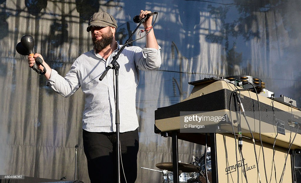 Alex Maas of The Black Angels performs during the 2014 Bottlerock Music Festival at Napa Valley Expo on June 1, 2014 in Napa, California.