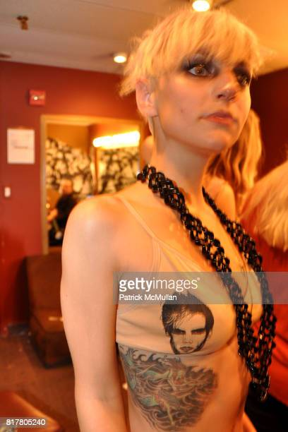 Alex Magnetic attends Live Nation presents Semi Precious Weapons at Irving Plaza on October 8 2010 in New York City