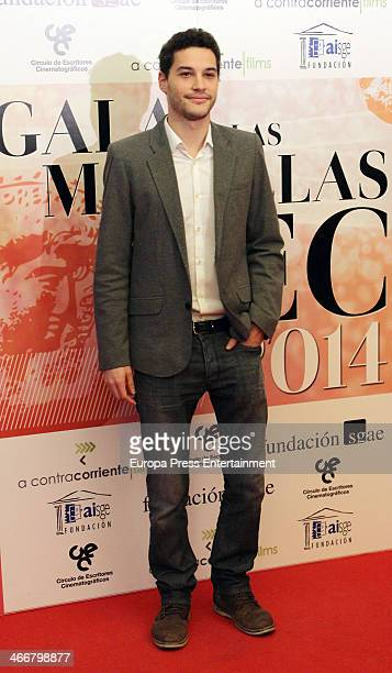 Alex Martinez attends the 'CEC' Medals 2014 ceremony at Palafox Cinema on February 3 2014 in Madrid Spain