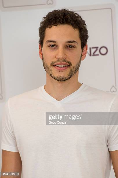 Alex Martinez attends the Kenzo Summer Party photocall at Club Financiero Genova on May 28 2014 in Madrid Spain