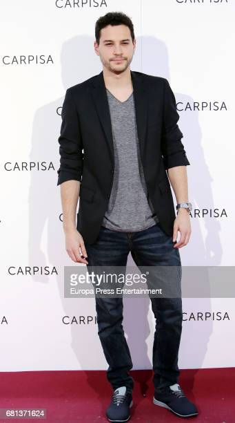 Alex Martinez attends the opening of new Carpisa stores on May 9 2017 in Madrid Spain