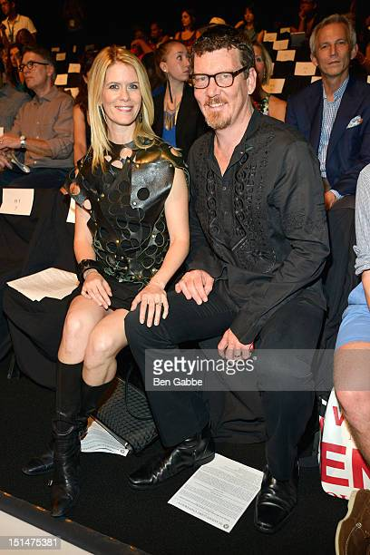 Alex McCord and Simon van Kempen attend the Academy Of Art University show during Spring 2013 MercedesBenz Fashion Week at The Theatre Lincoln Center...