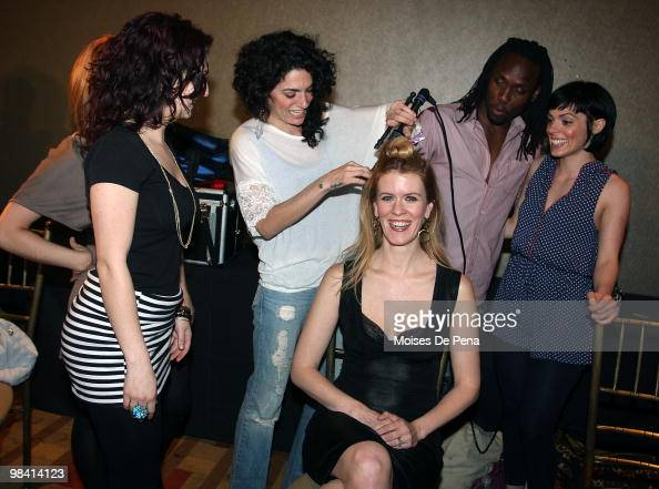 Alex McCord attends Brooklyn Fashion Week at Steiner Studios on April 11 2010 in the borough of Brooklyn in New York City