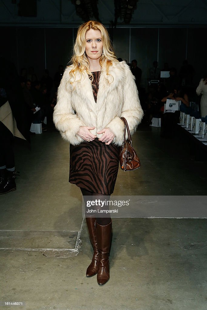 Alex McCord attends Malan Breton during Fall 2013 Mercedes-Benz Fashion Week at Pier 59 Studios on February 10, 2013 in New York City.