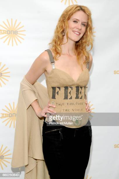 Alex McCord attends SOLAR 1's Revelry By The River Honors MATTHEW MODINE KICK KENNEDY HSBC at Stuyvesant Cove on June 2 2009 in New York