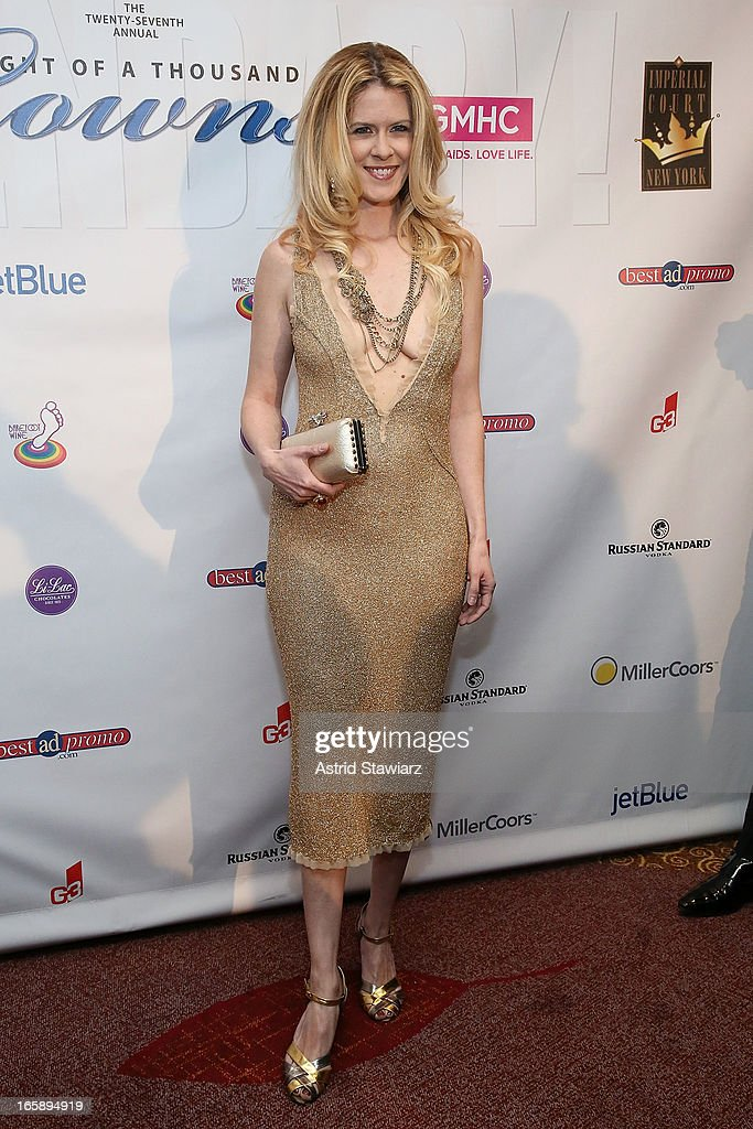 Alex McCord attends the 27th Annual Night Of A Thousand Gowns at the Hilton New York on April 6, 2013 in New York City.
