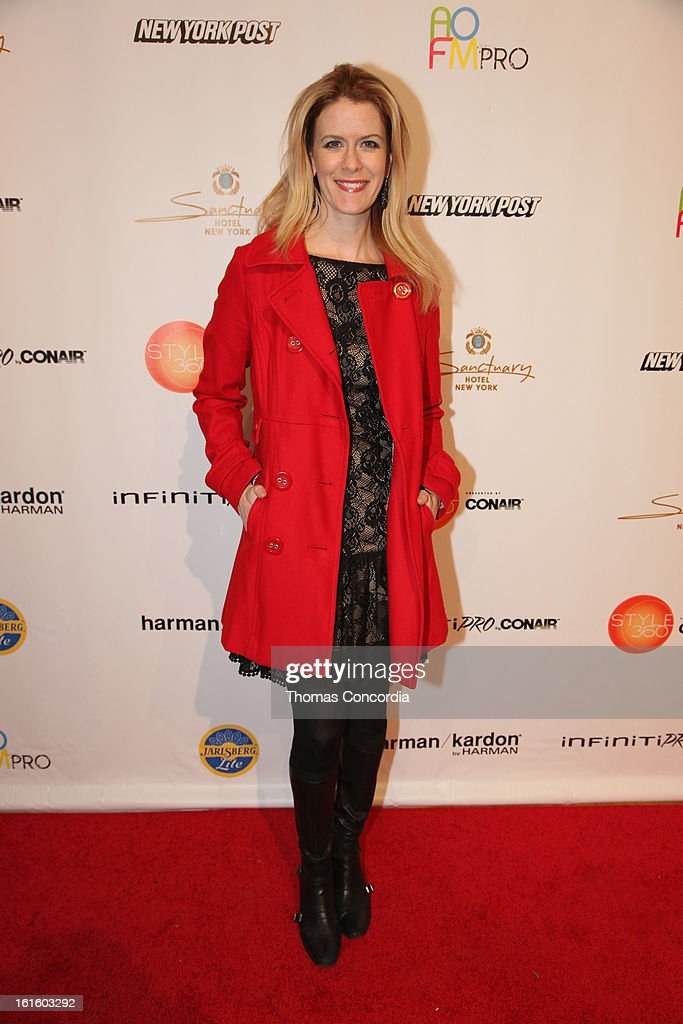 Alex McCord attends the Ashton Michael Fashion Show At CONAIR STYLE360 at STYLE360 presented by Conair Fashion Pavilion on February 12, 2013 in New York City.