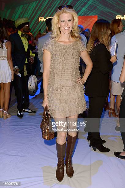 Alex McCord attends the Custo Barcelona fashion show during MercedesBenz Fashion Week Spring 2014 at The Stage at Lincoln Center on September 8 2013...
