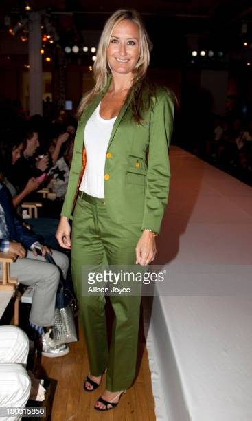 Alex McCord attends the Malan By Malan Breton fashion show during STYLE360 Spring 2014 at Metropolitan Pavilion on September 11 2013 in New York City