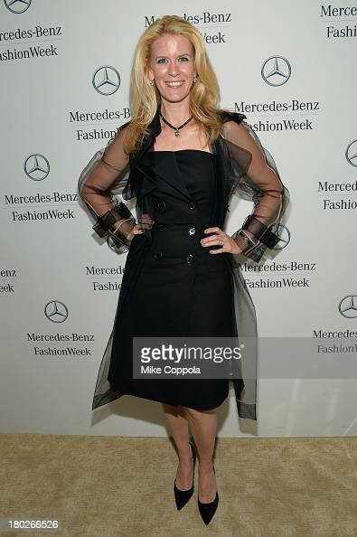 Alex McCord attends the MercedesBenz Star Lounge during MercedesBenz Fashion Week Spring 2014 on September 10 2013 in New York City