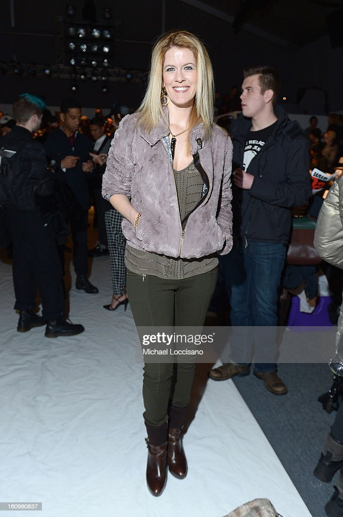 Alex McCord attends the Noon By Noor Fall 2013 fashion show during Mercedes-Benz Fashion at The Studio at Lincoln Center on February 8, 2013 in New York City.