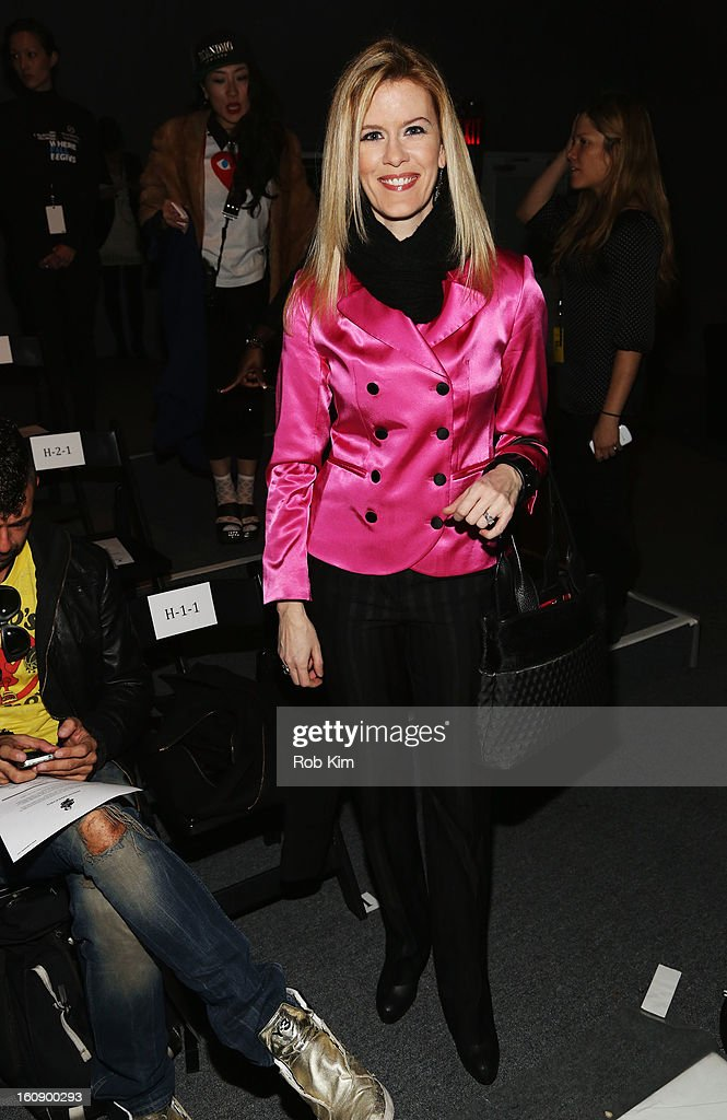 Alex McCord attends the Sergio Davila Fall 2013 fashion show during Mercedes-Benz Fashion Week at The Studio at Lincoln Center on February 7, 2013 in New York City.