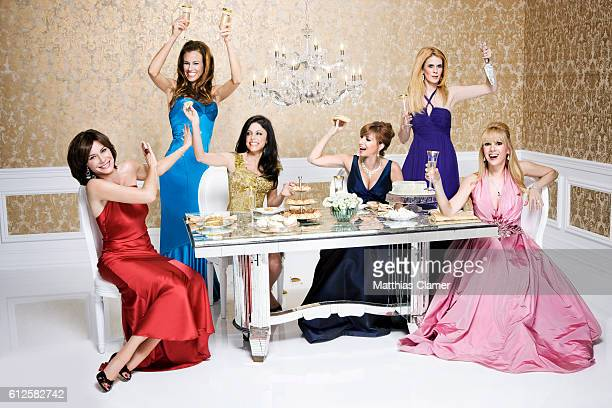 Alex McCord Bethenny Frankel Jill Zarin Kelly Killoren Bensimon LuAnn de Lesseps and Ramona Singer