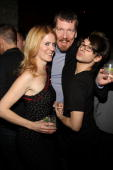 Alex McCord Simon van Kempen and Christian Siriano attend the Christian Siriano Fall 2010 after party during MercedesBenz Fashion Week at The...