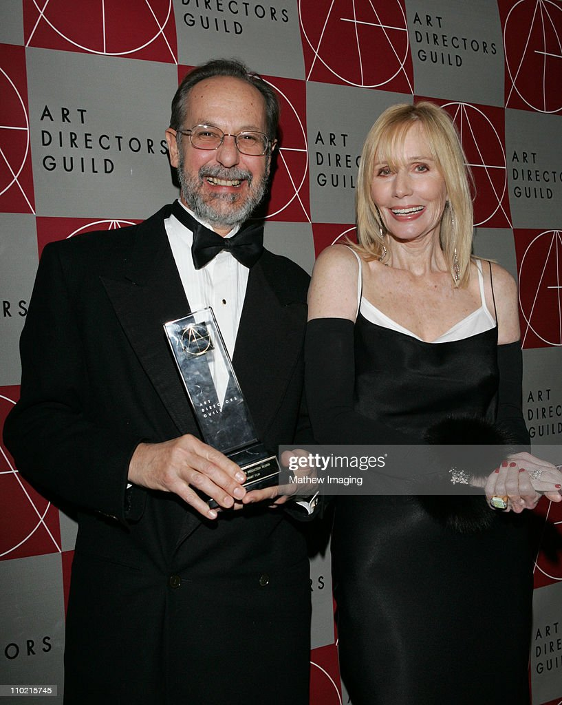 Alex Mcdowell Winner of the Excellence In Production Design for a Contemorary Film with Sally Kellerman *Exclusive*
