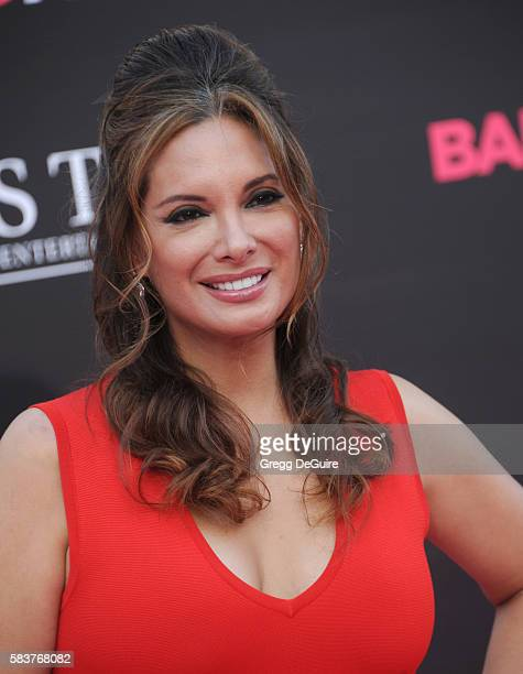 Alex Meneses arrives at the premiere of STX Entertainment's 'Bad Moms' at Mann Village Theatre on July 26 2016 in Westwood California