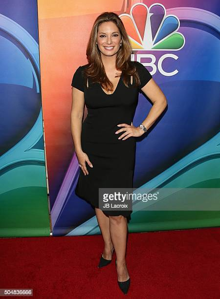 Alex Meneses attends the Winter TCA Tour NBCUniversal Press Tour at the Langham Huntington Hotel on January 13 2016 in Pasadena California