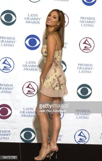 Alex Meneses during 3rd Annual Latin GRAMMY Awards Press Room at Kodak Theatre in Hollywood California United States