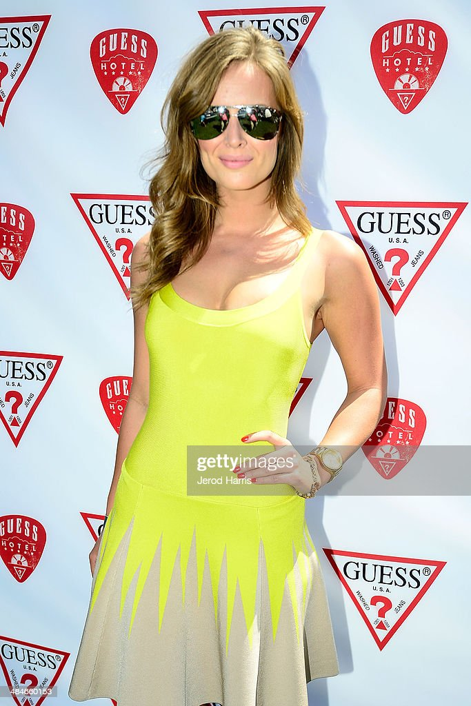 DJ Alex Merrell attends the GUESS Hotel at the Viceroy Palm Springs on April 13, 2014 in Palm Springs, California.