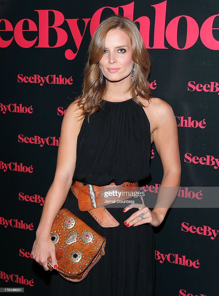 Alex Merrell attends the SeeByChloe Spring 2014 collection and premiere fragrance celebration at Industria Superstudio on June 12, 2013 in New York City.