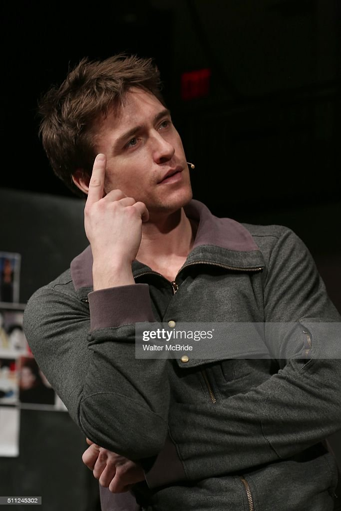 Alex Michael Stoll during the 'American Psycho' press preview at The New 42nd Street Studios on February 18 2016 in New York City