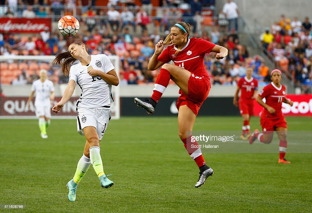 Fort Morgan (CO) United States  city photos : Alex Morgan #13 of the United States battles for the ball with Shelina ...