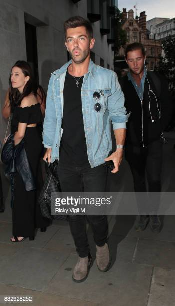 Alex Mytton attends LOTD launch party at Radio Rooftop Bar on August 16 2017 in London England