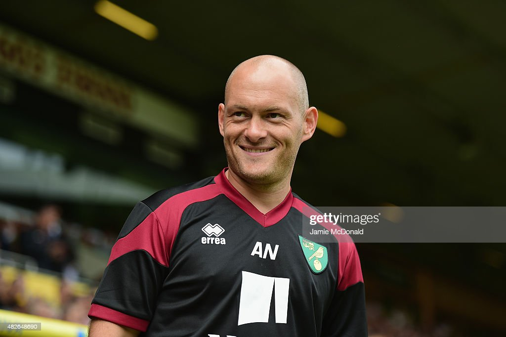 Alex Neil of Norwich City looks on during the pre season friendly match between Norwich City and Brentford at Carrow Road on August 1 2015 in Norwich...