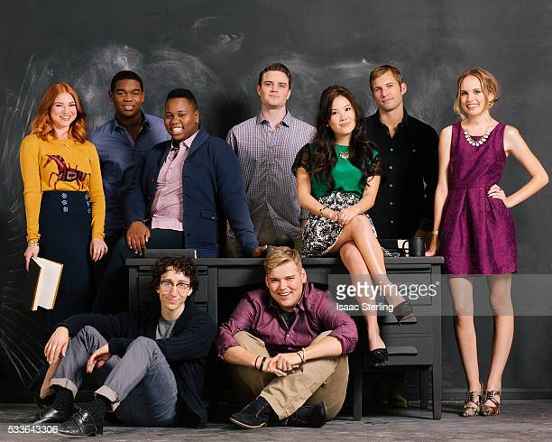 Alex Newall Allie Gonino Ally Maki Andrew Caldwell Cameron Deane Dexter Darden Justin Deely Meaghan Martin and Teo Olivares from <Geography Club>