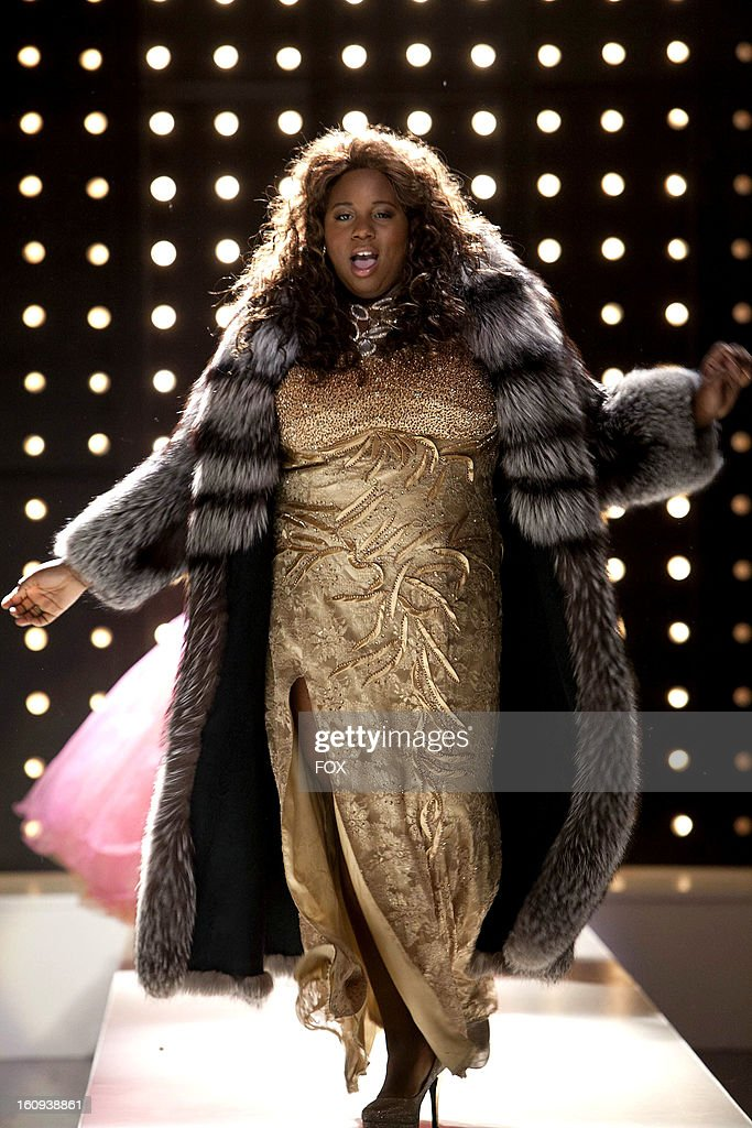 Alex Newell as 'Unique' on Season Four of GLEE airing Thursday, February 7, 2013 (9:00-10:00 PM ET/PT) on FOX.