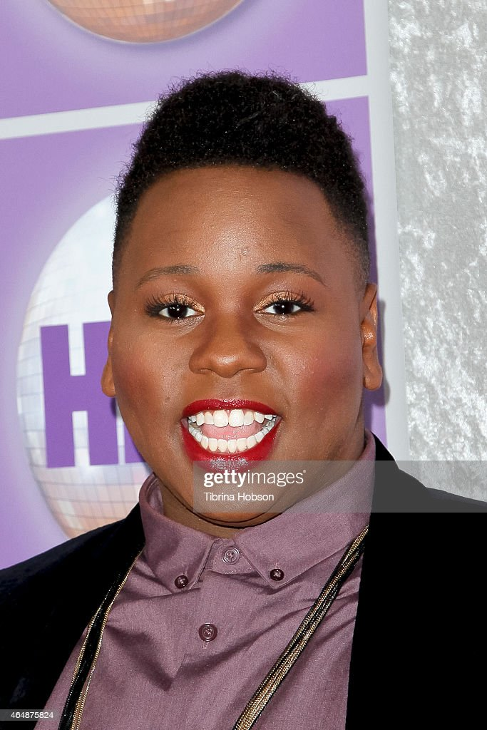 Alex Newell attends the Family Equality Council's Los Angeles awards dinner at The Beverly Hilton Hotel on February 28 2015 in Beverly Hills...