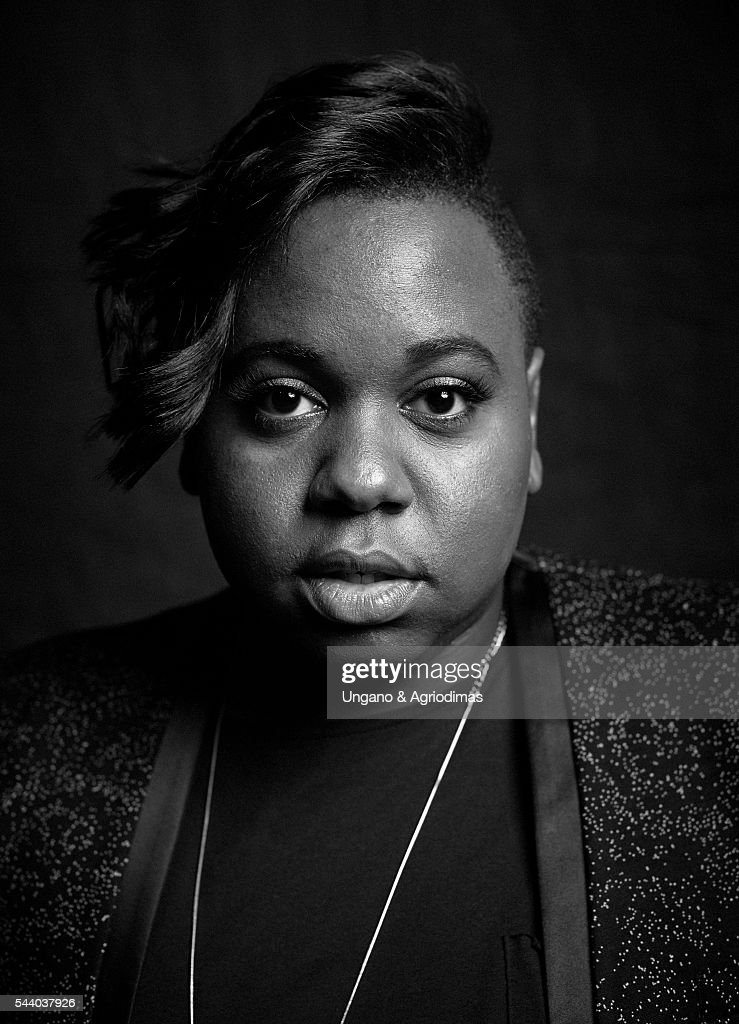 Alex Newell poses for a portrait at Logo's 'Trailblazer Honors' on June 23 in the Cathedral of St John the Divine in New York City